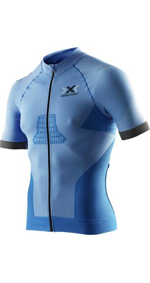 X-Bionic Race EVO Koszulka kolarska, krótki rękaw Mężczyźni niebieski